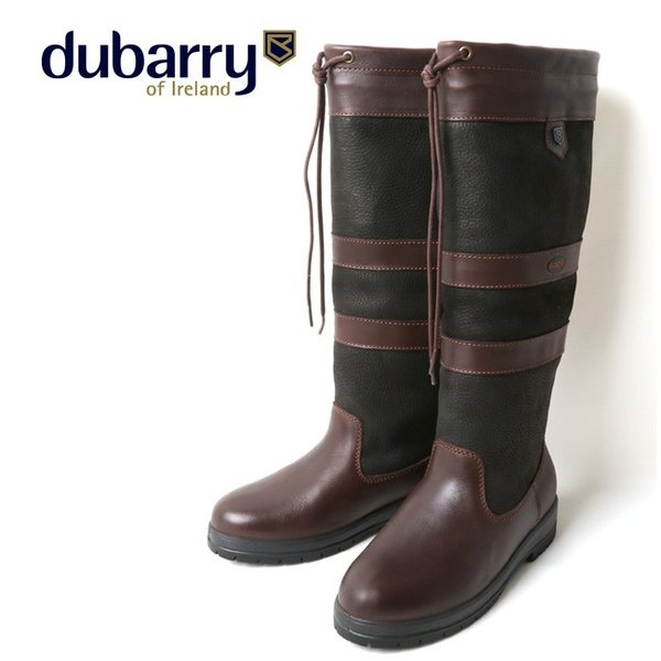 dubarry デュバリー GALWAY EXTRAFIT COUNTRY BOOT BLACK/BROWN 3931 【アウトドア/ブーツ/靴】