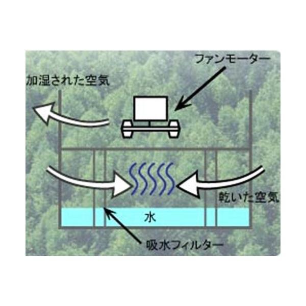 TO-PLAN コンパクト気化式加湿器 マイキュアミスト ブルー MCM-10(B) 自分だけのヒーリングシャワー