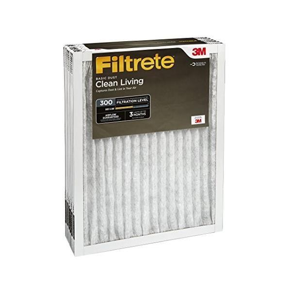 3M Filtrete Clean Livingフィルター 18x18x1 317DC-6 6