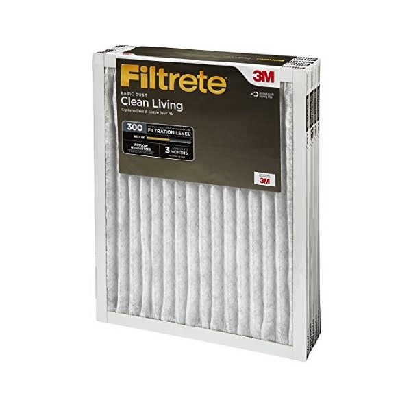 Filtrete Clean Livingフィルタ 14x30x1 324DC-6 6