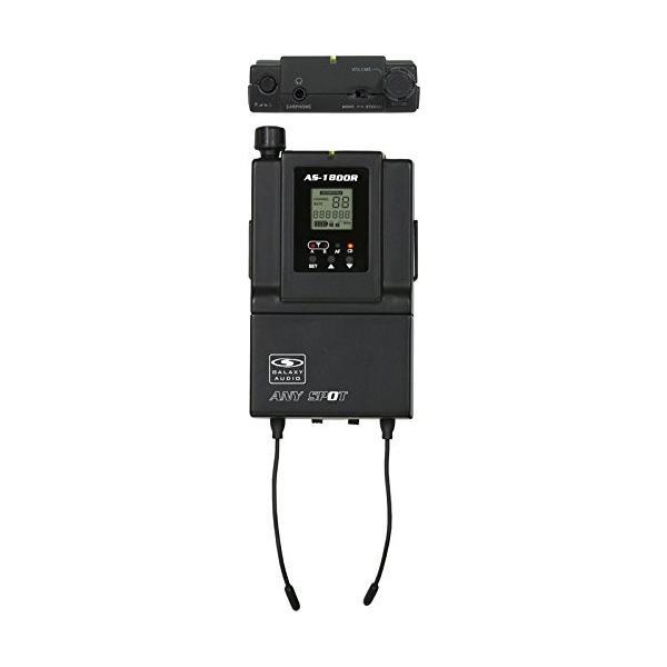 Galaxy Audio as-1800受信機W / eb6*Earbuds Freq。コアb3