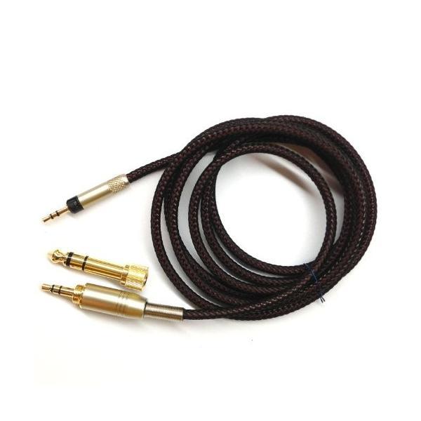 1.8*M交換用オーディオアップグレードケーブルfor Audio - Technica ath-m50*X ath-m40*Xヘッドフォン