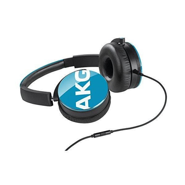 AKG Y50 Teal On-Ear Headphone with In-Line One-Button Universal