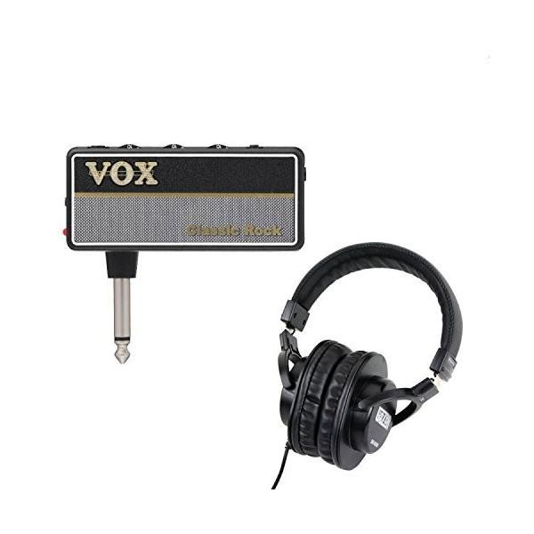 VOX AmPlug2 Classic Rock AP2-CR ギター用ヘッドホンアンプ SDG-H5000 ヘッドホン付セット
