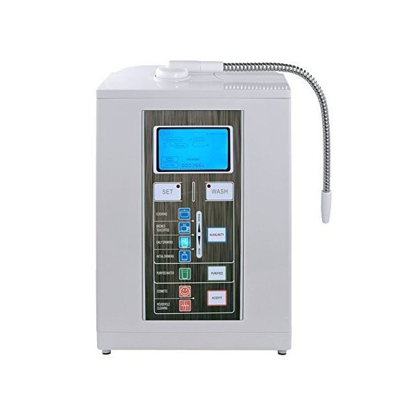 Aqua-Ionizer Deluxe 7 Plate Alkaline Water Ionizer and Alkaline Water