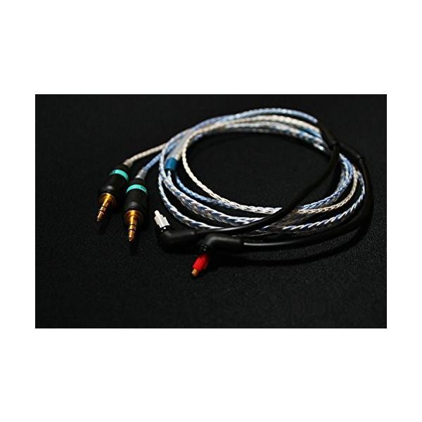 Gotor? PHA3 バランスケーブル MDR-EX1000 EX600 EX800 ヘッドフォン ヘッドセット 対応 交換用 オーディオ