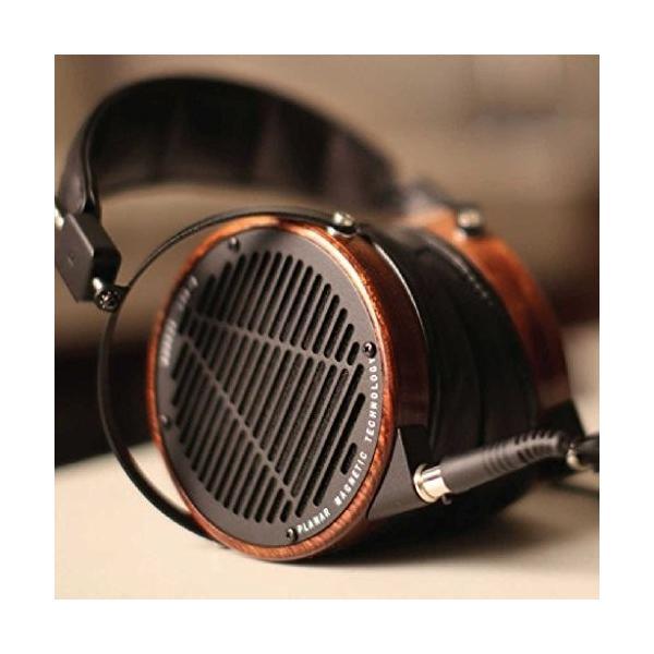 Audeze lcd2*over ear、オープンバックヘッド、ローズウッド、leather-free highlight 01