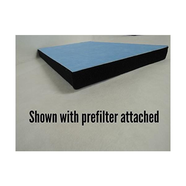 シャープfzn60hfu for fp-n60cx Generic空気清浄機filter- 2つExtra 2-stage Prefilters含ま