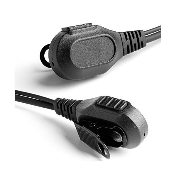 nnda Co 2ピンタイプトランシーバー無線機用イヤホン/ヘッドセットfor Motorola cp040*gp300*DTR XTN