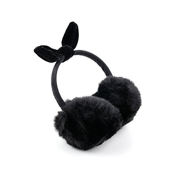 ブラックふわふわEarmuffs冬ヘッドフォン3.5*MMコネクター付きTagital mtm-7004|mtm-7019|t10|t7*X