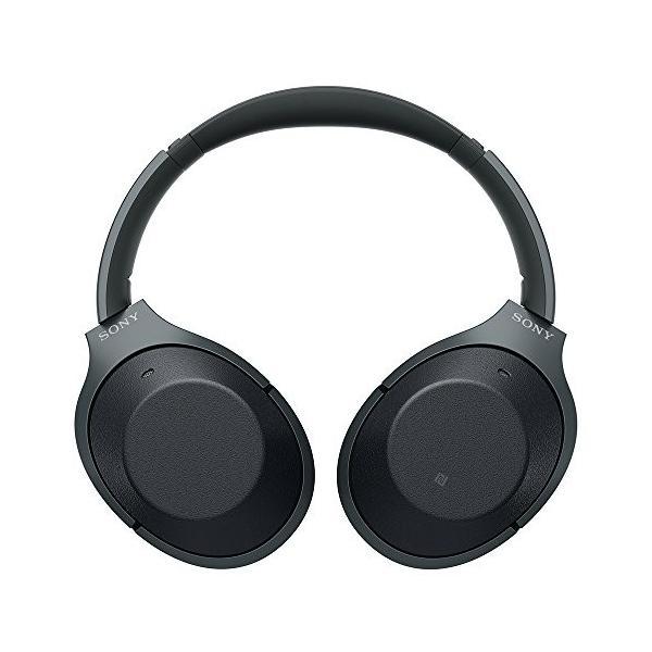 ソニー SONY ワイヤレスノイズキャンセリングヘッドホン WH-1000XM2 B : Bluetooth/ハイレゾ 最大30時間連続再生 密閉型