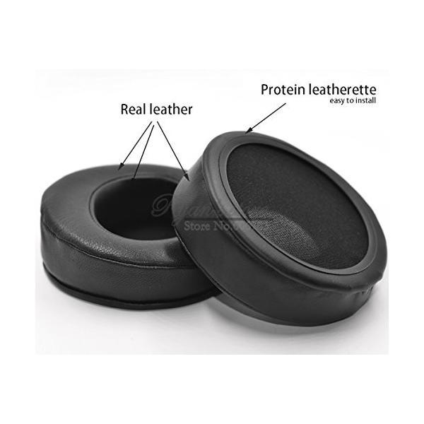 交換用角度本革クッション耳パッドfor HiFiMan HEシリーズヘッドフォン