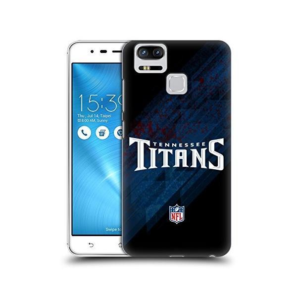 オフィシャル NFL ブラー テネシー・タイタンズ ロゴ ハードバックケース Zenfone 3 Zoom ZE553KL