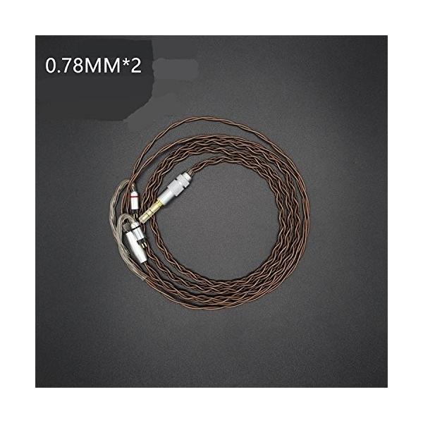 PCCITY UM3X W4R UE11 UE18 PRO JH13 JH16 1964 es3 es5 ヘッドホン 対応用 ケーブル ヘッドフォン