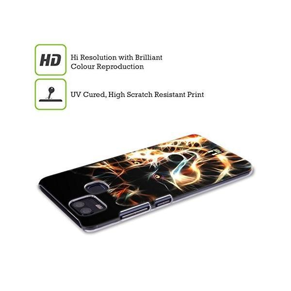 Head Case Designs ウルフ ワイルドファイアー ハードバックケース Zenfone 4 Selfie Pro ZD552KL