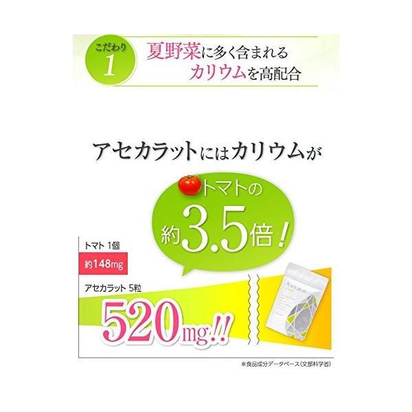 アセカラット Asecarat 150錠 with COSME|highlight|02