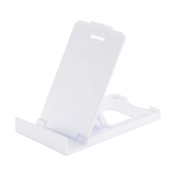 (ブレット) Bullet Trim スマートフォン ホルダー スタンド デスク小物 (8 x 4 x 1 cm) (ホワイト)