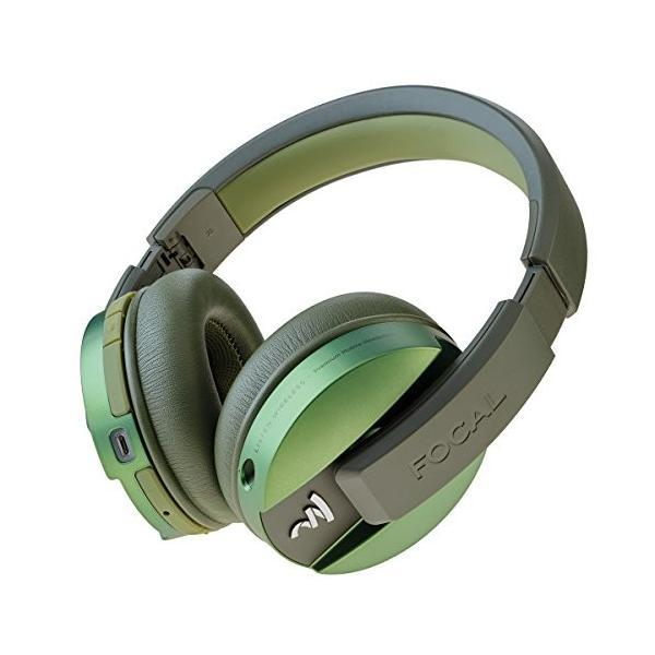 Focal Listenワイヤレスover-earヘッドフォンマイク付き(グリーン)