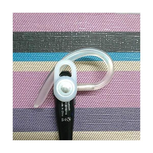 AMAA シリコン イヤーフック イヤー ループ クリップ  ブルートゥースヘッドセット用 (8cm)