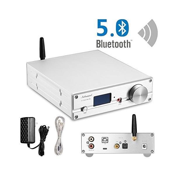 Nobsound HiFi ES9038Q2M DAC Bluetooth 5.0 USB XMOS オーディオ デコーダー ステレオ DSD512