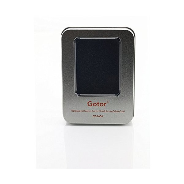 Gotor 交換ヘッドホンケーブル EX1000 EX600 EX800ST EXK ヘッドフォン 対応用 オーディオ アップグレード ケーブル