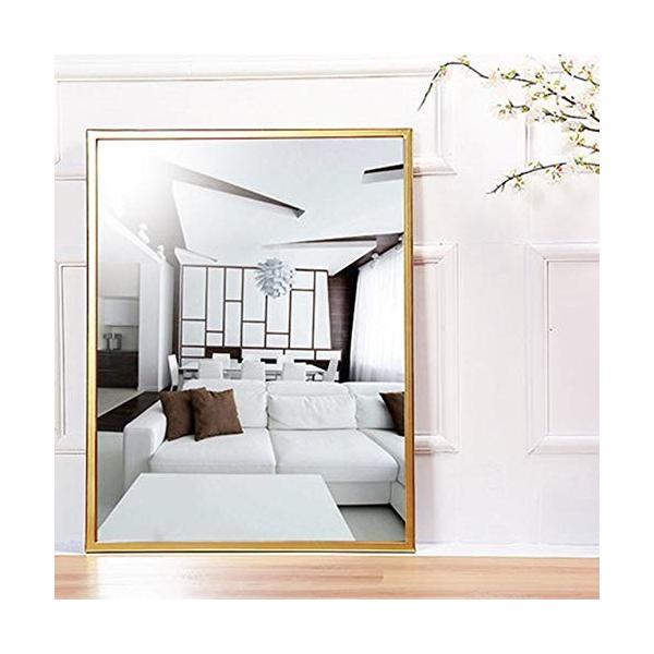 錬鉄製スクエアバスルームミラー衣料品店寝室の床フルボディミラーバスルームの壁鏡|highlight|02