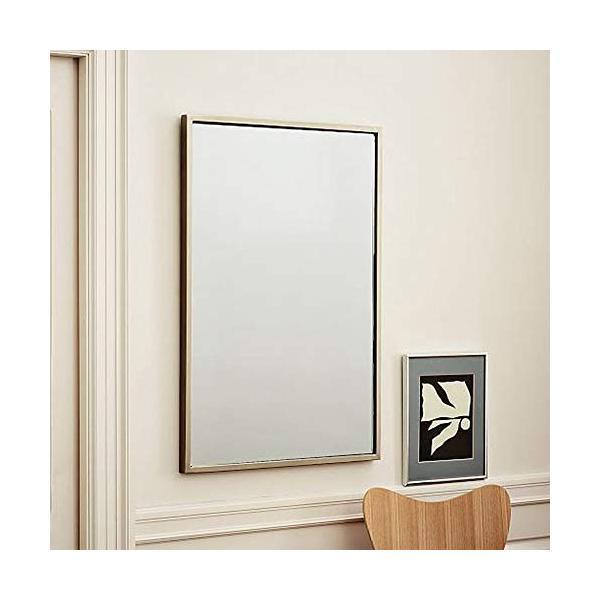 錬鉄製スクエアバスルームミラー衣料品店寝室の床フルボディミラーバスルームの壁鏡|highlight|03