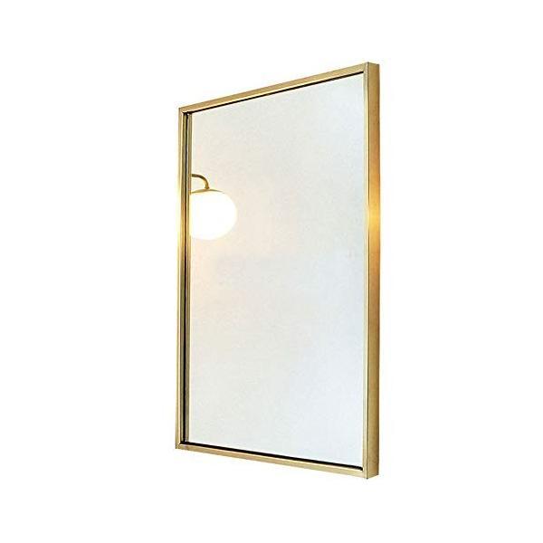 錬鉄製スクエアバスルームミラー衣料品店寝室の床フルボディミラーバスルームの壁鏡|highlight|05
