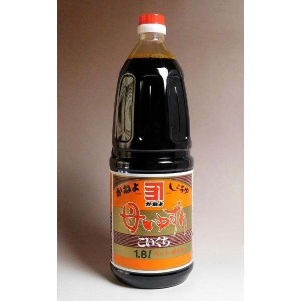 お中元 プレゼント ギフト 濃口醤油 カネヨ 母ゆずり 濃口醤油 1800ml 横山醸造 鹿児島のしょうゆ