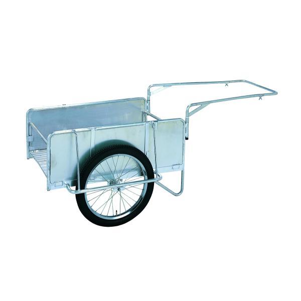 昭和ブリッジ アルミ製オリタタミ式リヤカー ハンディキャンパー 側板あり仕様 S8-A2S