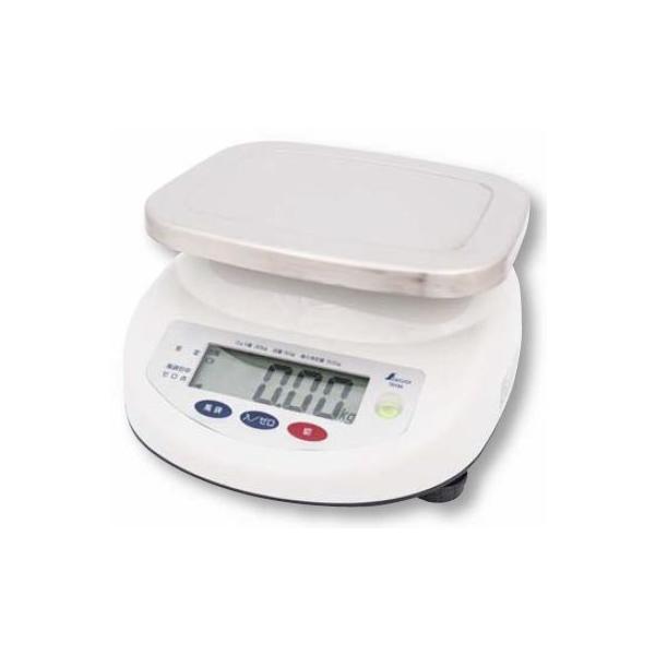 シンワ デジタル上皿はかり 取引証明用(検定証印付) 防塵・防水 6kg  品番:70192