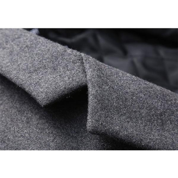 チェスターコート メンズ ビジネスコート ロングコート ステンカラーコート スリム アウター ジャケット コート 紳士 通勤 hikari-fashion 10