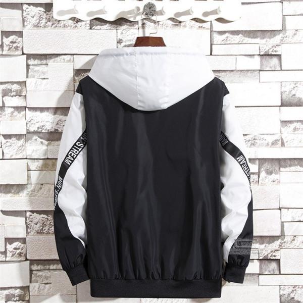 ウインドブレーカー メンズ ジャケット 春物 アウター マウンテンパーカー 配色 スポーツ アウトドア セール|hikari-fashion|12