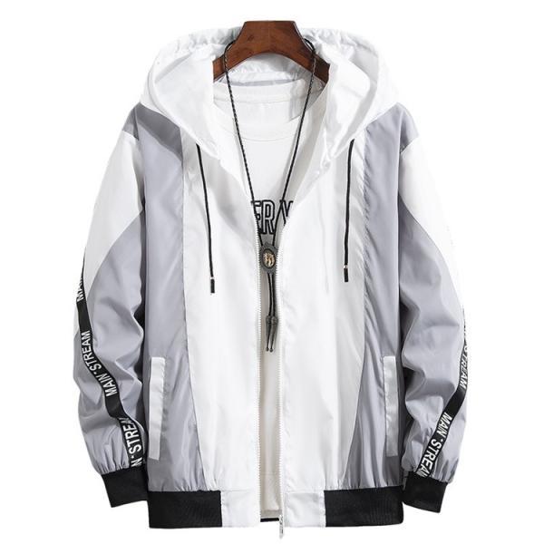 ウインドブレーカー メンズ ジャケット 春物 アウター マウンテンパーカー 配色 スポーツ アウトドア セール|hikari-fashion|05