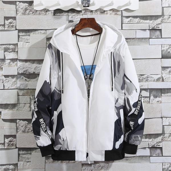 ウインドブレーカー メンズ ジャケット 春物 アウター マウンテンパーカー 配色 スポーツ アウトドア セール|hikari-fashion|08