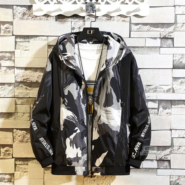 ウインドブレーカー メンズ ジャケット 春物 アウター マウンテンパーカー 配色 スポーツ アウトドア セール|hikari-fashion|09