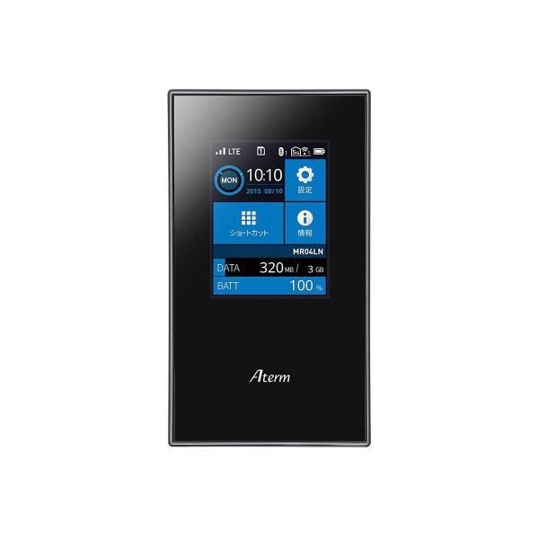 NECプラットフォームズ SIMロックフリー LTE モバイルルーター Aterm MR04LN ( デュアルSIM 対応 / microS|hikarigarden