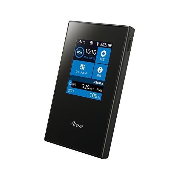 NECプラットフォームズ SIMロックフリー LTE モバイルルーター Aterm MR04LN ( デュアルSIM 対応 / microS|hikarigarden|02