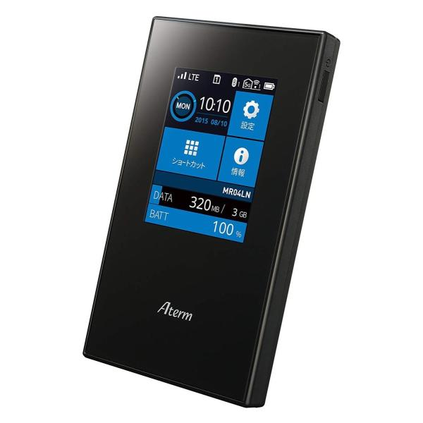 NECプラットフォームズ SIMロックフリー LTE モバイルルーター Aterm MR04LN ( デュアルSIM 対応 / microS|hikarigarden|03