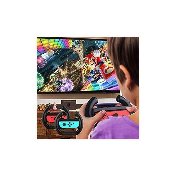 ジョイコンハンドル 任天堂スイッチ ニンテンドースイッチ グリップ Switch 専用ハンドル?Joy-Con コントローラー 自由伸縮 ス hikarigarden 06