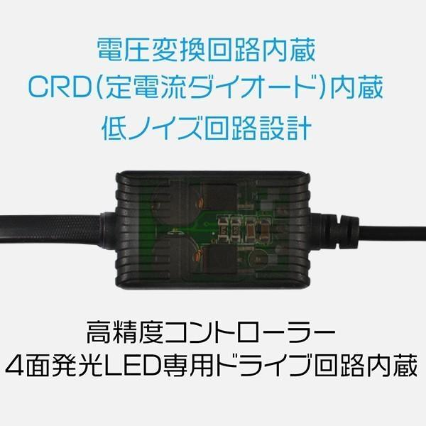 3%クーポン!LEDヘッドライト/フォグランプ 新世代COB型 H7 H8 H11 H16 H4 Hi/Lo切替 8000LM 4面発光 360°無死角発光 バルブ2個 nzg|hikaritrading1|06