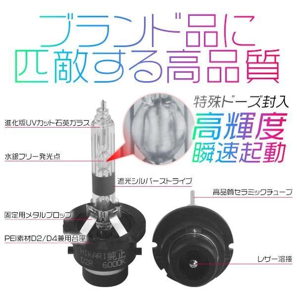 3%クーポンHIDバルブ  瞬速起動 高輝度 D2S D2R HIDバルブ水銀レス TKK-Gの快速起動 HIDバルブ ヘッドライト1年保証GD|hikaritrading1|04