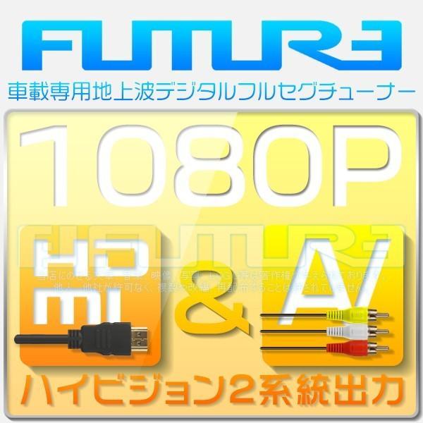 地デジチューナー 車載 4×4 フルセグ ワンセグ チューナー フィルムアンテナ 地デジ 受信感度3倍UP アンプリファー付 AV HDMI出力 12V 24V 1年保証ADTV|hikaritrading1|04