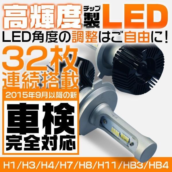 送料無料 Philipsに負けない 30w高輝度 高品質 LEDヘッドライト LEDフォグランプ Hi/Lo H4 H3 5500k 新基準車検対応 二面発光 2個 8PS|hikaritrading1