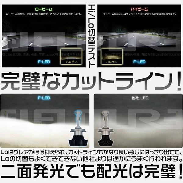 送料無料 Philipsに負けない 30w高輝度 高品質 LEDヘッドライト LEDフォグランプ Hi/Lo H4 H3 5500k 新基準車検対応 二面発光 2個 8PS|hikaritrading1|03