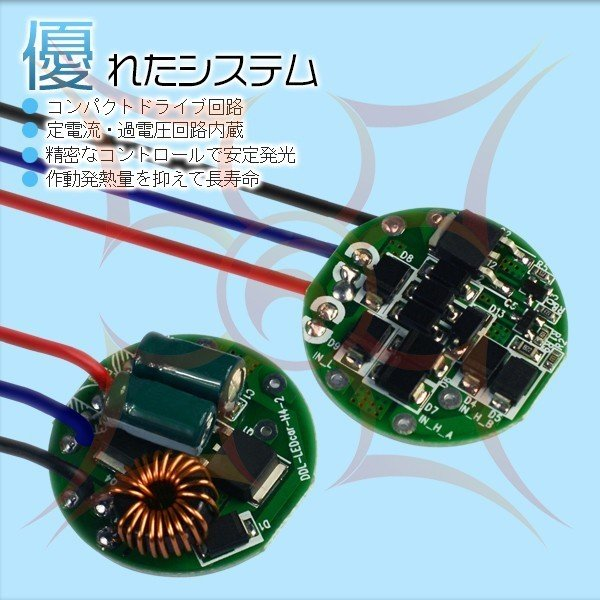 3%クーポンLEDヘッドライト フォグランプ 4チップ 二面発光 CREE 40W 12V EMC対応 オールインワン DLCコーティング H1 H7 slj|hikaritrading1|04