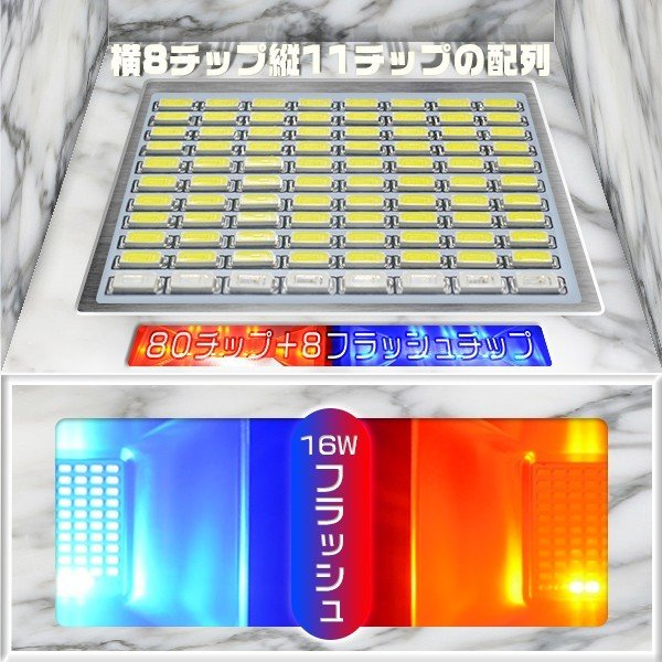 LED投光器 充電式作業灯 144wより明るい 160W+16w爆発フラッシュ 19600lm 最大点灯22時間 効率チップ 多色発光モード ledライト 防水 PSE適合 送料無 1個GY|hikaritrading1|04