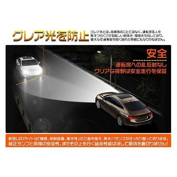 a LEDヘッドライト H4 Hi/Lo ledフォグランプ H7 H8 H11 HB3 HB4 12000LM 新車検対応 PHILIPS 6000k 高集光 グレア防止 超薄型0.8mm基盤 ledバルブ2個 送料無hot|hikaritrading1|04