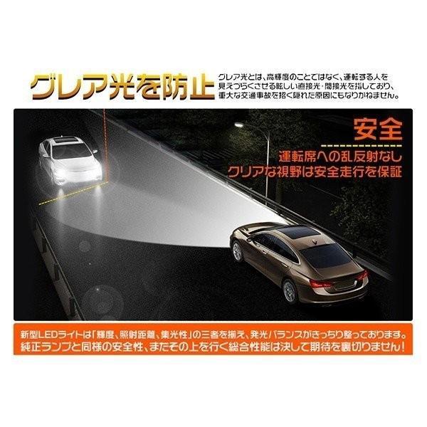 LEDヘッドライト H4 Hi/Lo ledフォグランプ H7 H8 H11 HB3 HB4 12000LM 新車検対応 PHILIPS 6000k 高集光 グレア防止 超薄型0.8mm基盤 ledバルブ2個 送料無hot hikaritrading1 04
