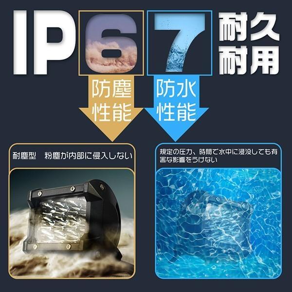 送料無料 LED作業灯 120W LEDワークライト LED サーチライト PL保険 40枚チップ LED投光器 IP67 防水 重機 1年保証 1個|hikaritrading1|04
